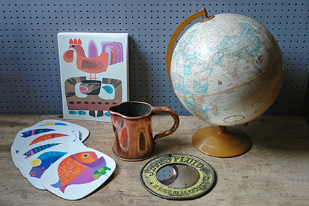 various vintage homewares from H is for Home
