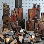 Creative Collections: Vintage printing blocks