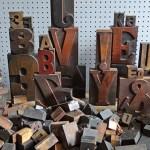 Creative Collections: Vintage printing blocks