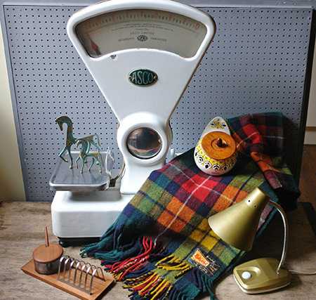 vintage homeware items from H is for Home