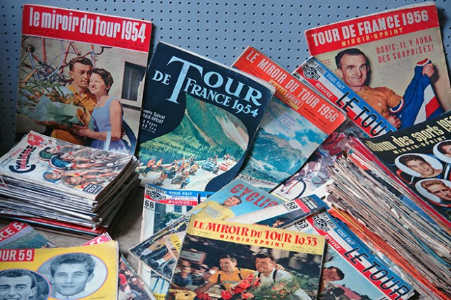 Vintage Tour de France magazines | H is for Home