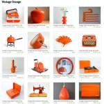 Etsy List: Vintage Orange