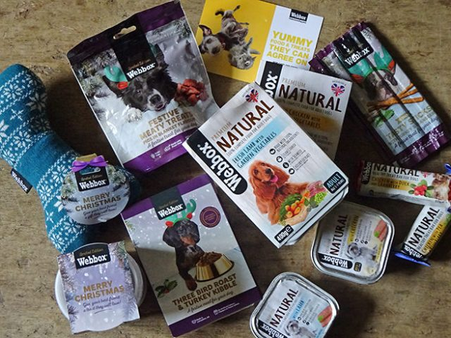 Collection of treats from Webbox from their natural and Christmas ranges   H is for Home