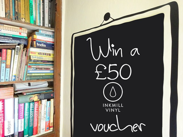 Win a £50 Inkmill voucher with H is for Home