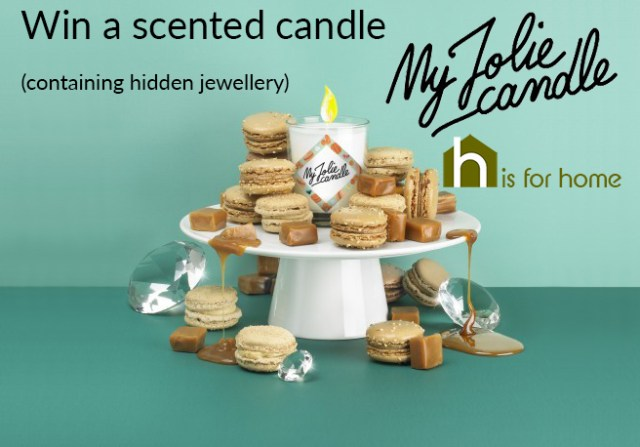 Win a My Jolie Candle | H is for Home