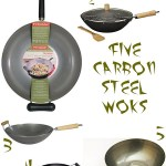 Gimme Five! Carbon steel woks