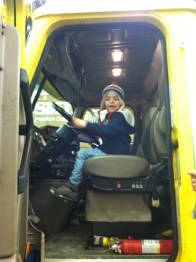 Truck driver Theo.