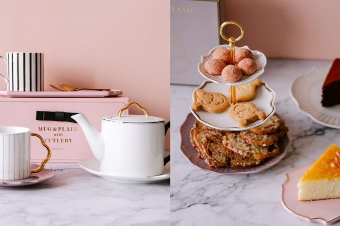 Francfranc 來自日本的家飾家品店,在家也可以有高級下午茶的儀式感。