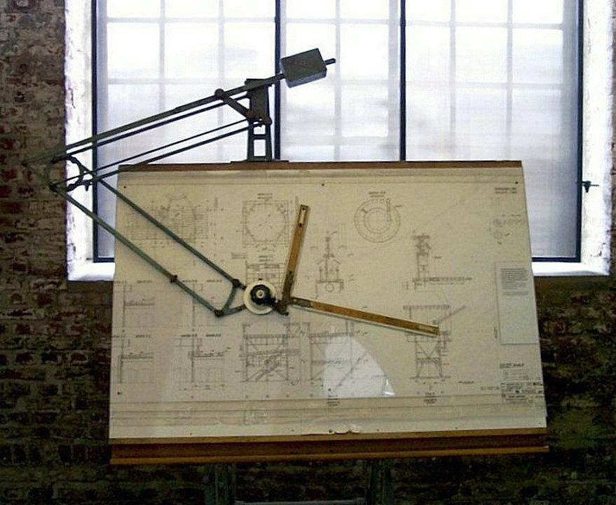 Technische Zeichnung – HiSoUR Kunst Kultur Ausstellung