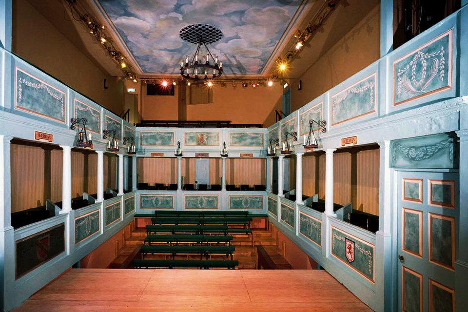 Georgian Theatre Royal Richmond Reino Unido Hisour