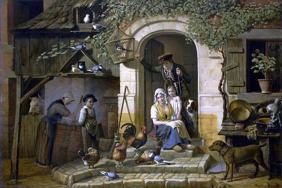 Genremalerei  Genremalerei – HiSoUR Kunst Kultur Ausstellung