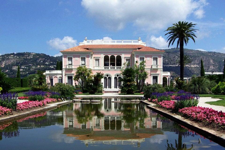 Villa Ephrussi de Rothschild, Saint-Jean-Cap-Ferrat, Frankreich ...