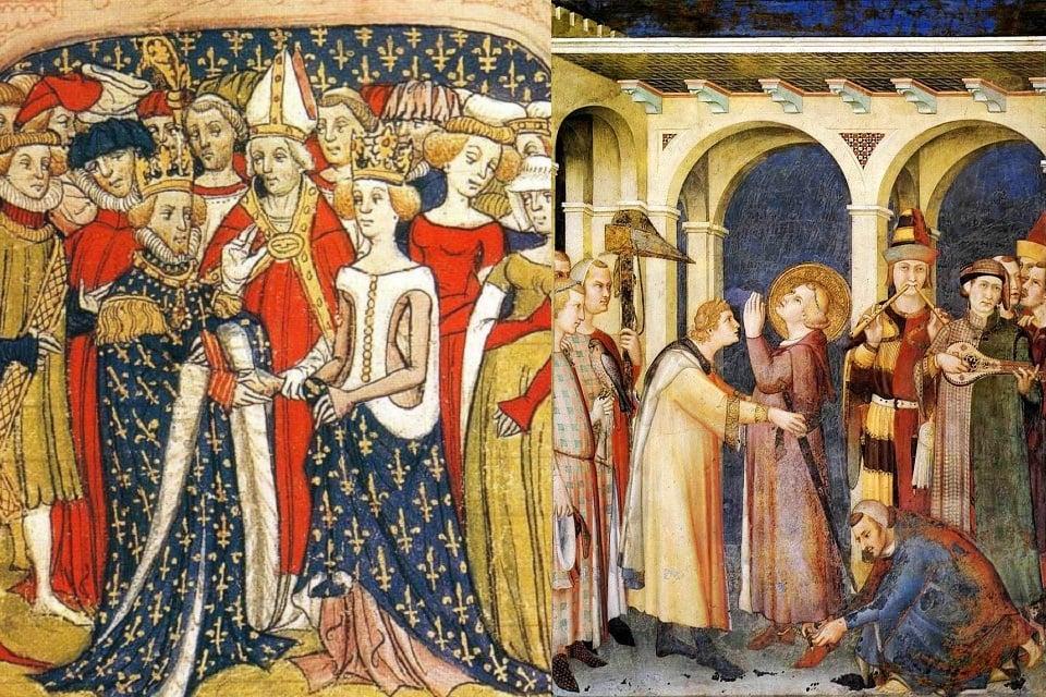 Image result for illuminated manuscript illustrations 1400