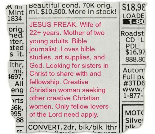 custom newspaper classified ad