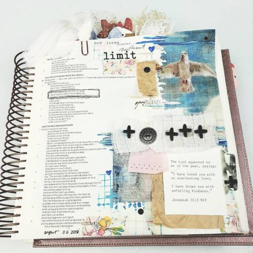 bible page using kit
