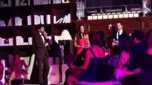 Lorena Rojas y su premio de Miami Hair Beauty and Fashion 2012