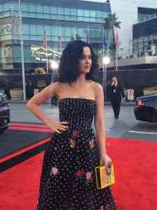 Katy Perry American Music Awards alfombra roja