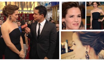 Detalles del maquillaje de Jennifer Garner en los Premios SAG 2014