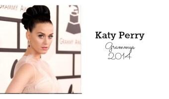 Detalles paso a paso del maquillaje de Katy Perry en los Grammy