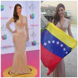 Chiquinquirá Delgado deslumbra en Premio Lo Nuestro 2014