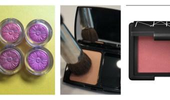 Tendencia de maquillaje: rubores en tonos florales