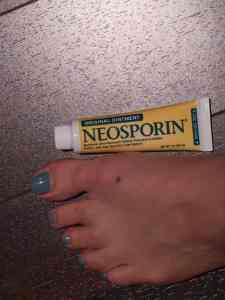 Neosporin es indispensable para las familias con hijos chicos