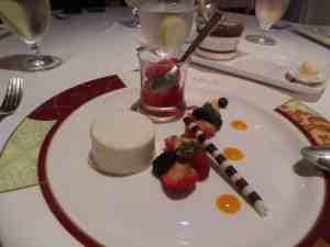 Comida en Palo en crucero de Disney