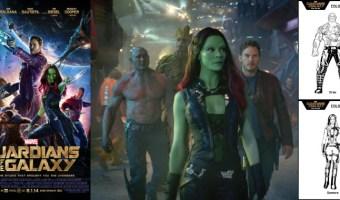 Colorea estos dibujos gratis de Guardianes de la Galaxia