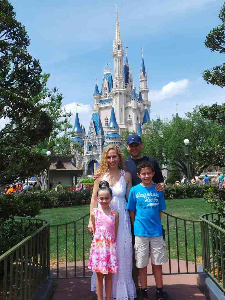 Familia en Disney World