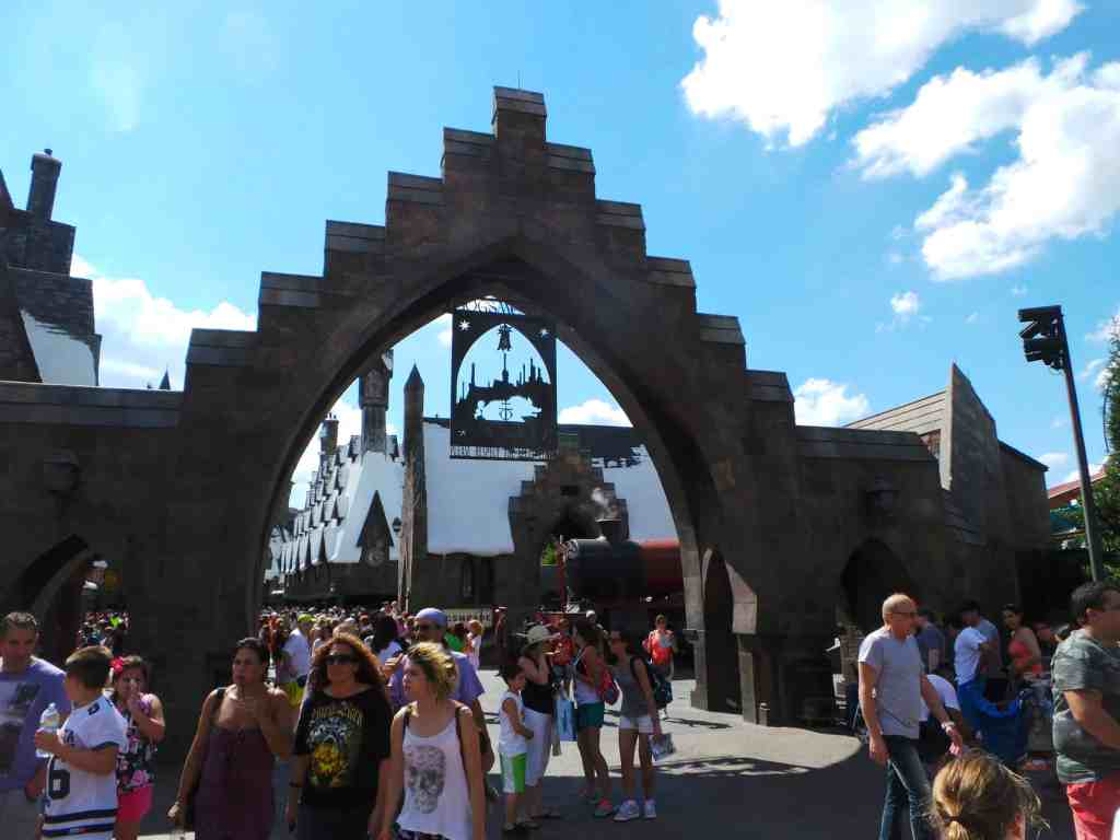 Entrance Wizarding World of Harry Potter