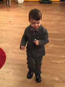 Look formal para niño