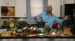 Manuel Villacorta da tips de cocina sana