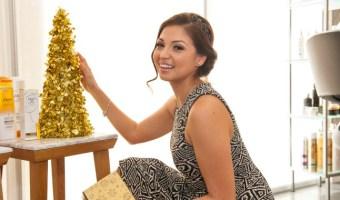 Peinado para la cena de Navidad o Nochebuena en 7 pasos