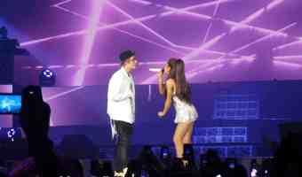 Video del concierto de Ariana Grande en Miami con Justin Bieber