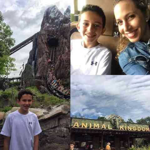 Diversion en Walt Disney World con mi hijo