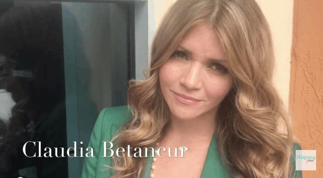 Claudia Betancur maquilladora de celebridades comparte secretos de belleza