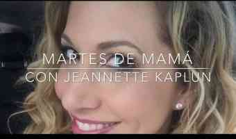 Las vacaciones escolares no estresan a Jeannette Kaplun