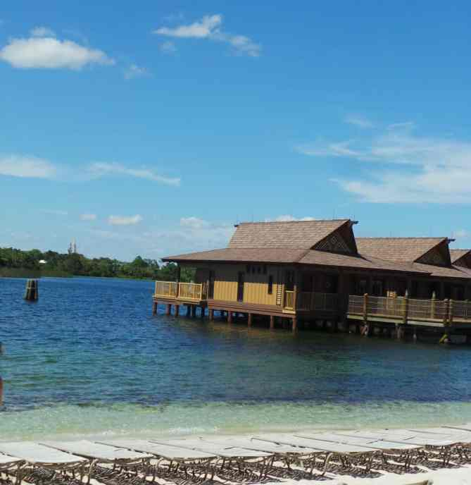 Bora Bora bungalow en Disney World
