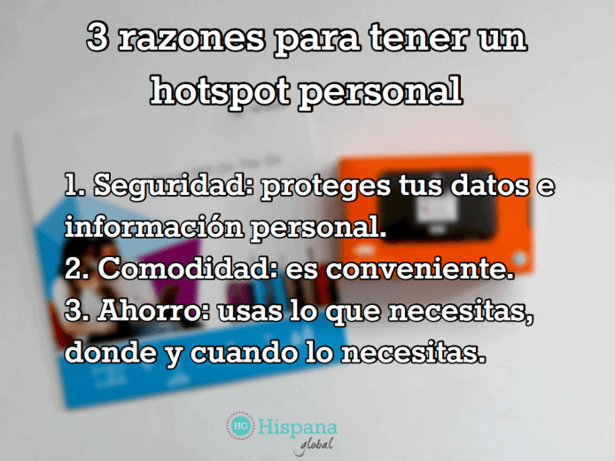 razones para hotspot personal con wifi