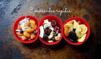 3 meriendas con frutos secos que puedes preparar rápidamente
