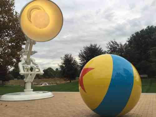Luxo pelota de Pixar