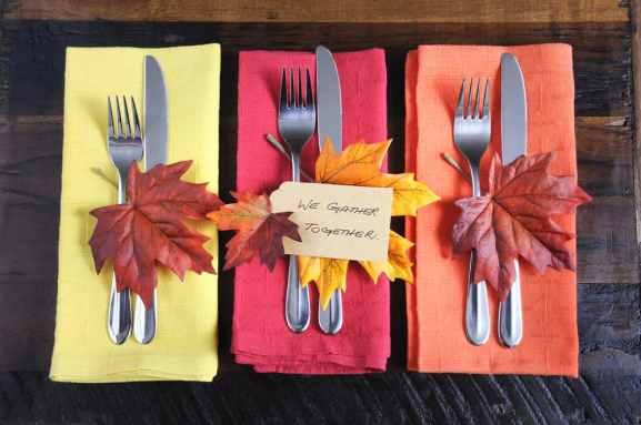 Ideas para adornar la mesa de Thanksgiving