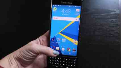 Blackberry Priv with keyboard