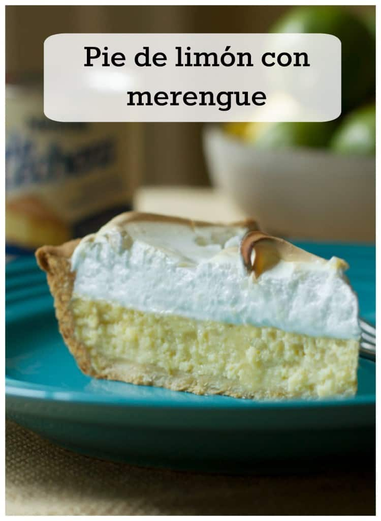 Esta deliciosa receta de tarta o pie de limón es deliciosa