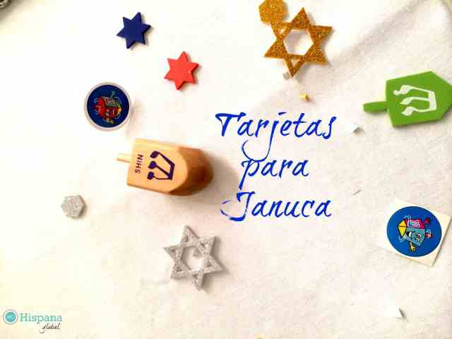 Tarjetas para Januca que puedes imprimir gratis - Hispana Global