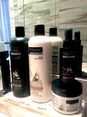 Linea Botanique de Tresemmé para hidratar el cabello