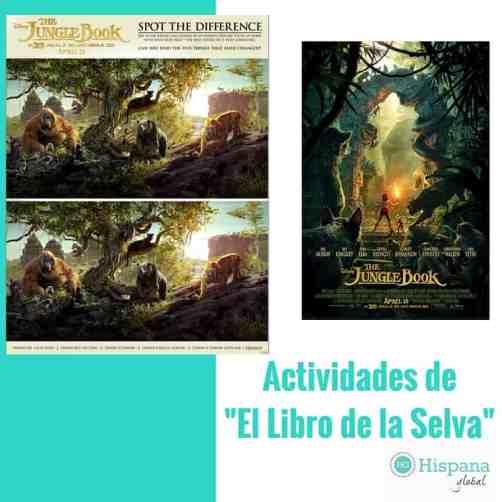 Actividades de El Libro de la Selva de Disney
