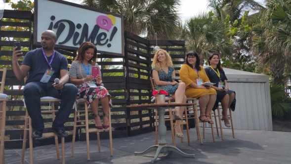 Panel en Hispanicize Dime Summit