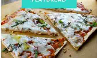 4 irresistibles recetas de pizza tipo flatbread
