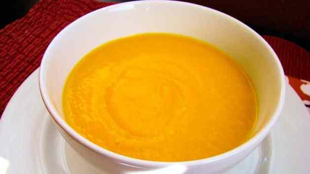 Sopa de calabaza - Foto Enriqueta Lemoine
